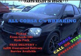 CORSA C SPARES LEEDS LS12