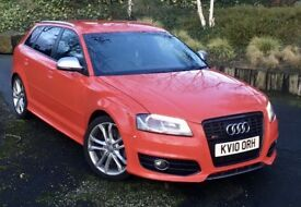 2010 AUDI S3 2.0 TFSI QUATTRO DSG AUTOMATIC SPORTBACK FULLY LOADED MINT CONDITION REMAPPED GTD FR
