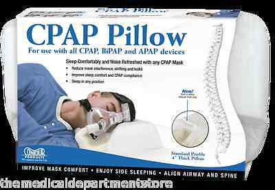 Contour Cpap Mask Pillow 4'', Cpap Wipes, Hose Cover & Ex...