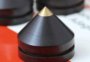 1 set Ebbenhout Blackwood 23mm Luidspreker Spikes Subwoofer