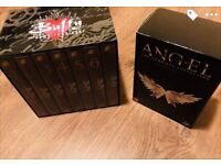 Buffy and Angel complete DVD box sets