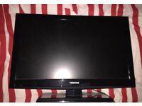 22 inch Toshiba full hd tv