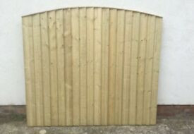 🛠Excellent Quality Arch Top Feather Edge New Fence Panels • HeavyDuty