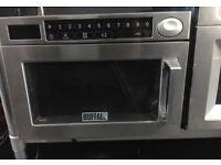 Buffalo programmable microwave oven