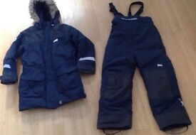Helly Hansen ski coat & trousers age 6