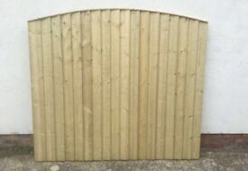 🔝 Quality Bow Top Feather Edge Fence Panels * Heavy Duty