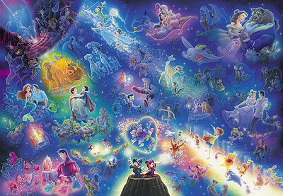 Disney All Star Symphony Stained Art Glass Jigsaw Puzzle 266pcs (18.2x25.7cm)
