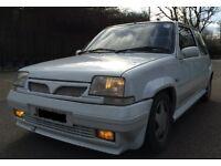 RENAULT 5 GT TURBO – 1991 J-Reg – only 94k - 190BHP at 19PSi