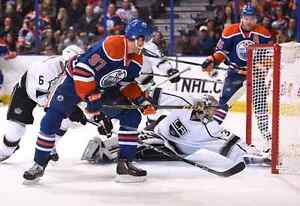 Way Below Face Value Lower Bowl Club Oilers vs Kings Dec 29