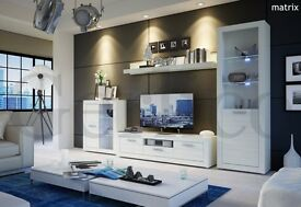TV Wall Unit Galaxy / Living room furniture set / Free LED !!! / TV Stand