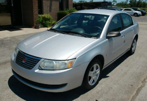 CLEAN LOADED 2006 SATURN ION 4 CYL AUTO SEDAN WITH VERY LOW KM'S