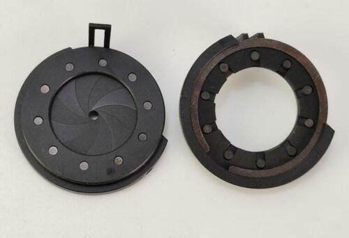Continuously variable diaphragm lens screen shutter Aperture slot Iris f camera