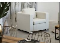 Darcy Leather Club Chair selling at £150 Brand new boxed