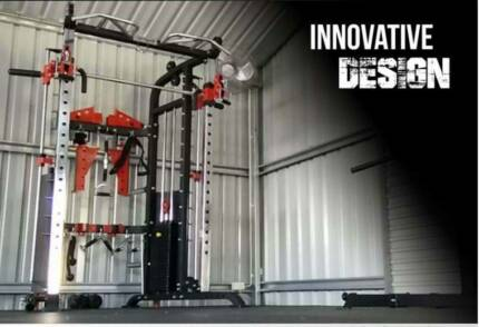 New Ultimate Functional Trainer F70 with Cast Iron Weight Stacks