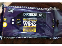 Multi Purpose DIY Cleaning Wipes, Heavy Duty ROUGH & SMOOTH by DIRTEEZE 3packs