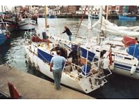 Steel Cutter,9.6 Mtrs , Powered by a BMC Inboard Diesel Engine, 4 Berths. A very Sturdy Boat.