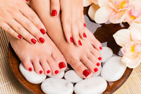 Manicure and Pedicure (esthetic services)