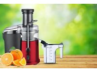NEW IN BOX! Bella Casa Professional Stainless Steel Whole Fruit Power Juicer 990 Watts