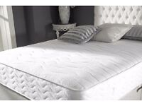 DOUBLE EXTRA FIRM- MEDICATED- MATTRESS WITH DIVAN BED- same-day-delivery