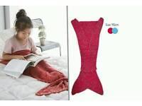 Girls mermaid blanket