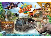 I have 2 chessington world of adventure tickets for sale!! :)