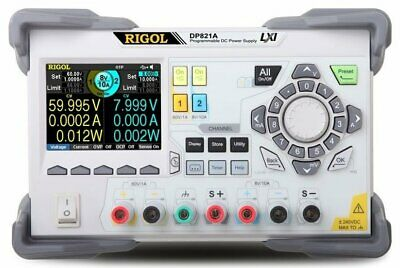Rigol Dp821a Dual Output 140 W Programmable Dc Power Supply