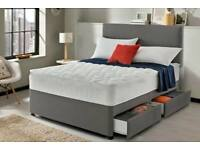 Warehouse Sale New Divan Bed For Sale All Sizes Single Double King