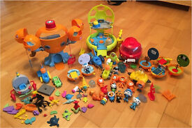 Octonauts bundle - everything pictured