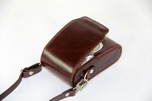 coffee leather case bag to Canon S110 S100 ELPH 530 HS 320 510 310 HS camera T16