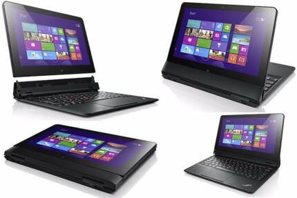 Lenovo Helix 2in1 Windows Hybrid Laptop/Tablet i7 2GHz 256GB 8GB Melbourne CBD Melbourne City Preview