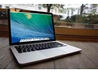 13 Retina Macbook Pro 2.4Ghz i5 8Gb Ram 128Gb SSD Logic Pro Native Instrument Izotope Ableton Reason