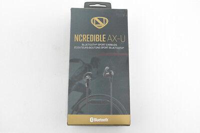 - New OEM Ncredible AX-U Black Bluetooth Sport Earbuds