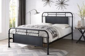 new metal king bed