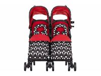 Obaby Leto Plus Twin/DOUBLE/PUSHCHAIR ECLIPSE NEW
