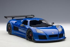 AUTOart 1/18 Gumpert Apollo S Blue