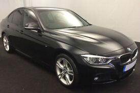 Black BMW 335 3.0TD 4X4 Auto 2016 d xDrive M Sport FROM £103 PER WEEK!