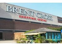Cleaners Required MON - SUN, 1 Hour, 8am to 9am -Brent Cross Shopping Centre