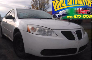 2007 Pontiac G6, Sunroof, Snow package SAFETIED
