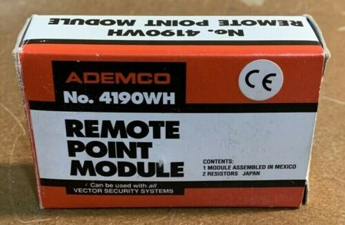 NEW ADEMCO 4190WH REMOTE POINT MODULE