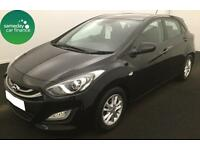 £162.03 PER MONTH BLACK 2014 HYUNDAI i30 1.6 ACTIVE 5 DOOR PETROL AUTOMATIC