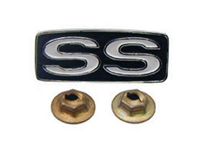 69 Camaro Nova Chevelle SS Super Sport Horn Shroud Steering Wheel Emblem  Camaro Ss Wheel Emblems