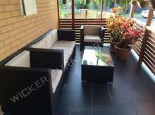 NEW Wicker Outdoor Furniture Lounge Available Black, Brown &White Wetherill Park Fairfield Area Preview