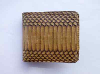 Original Cobra Leather - Original Cobra & python Leather Premium Men Women Wallet Handmade Snake Skin
