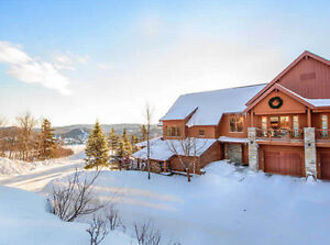 Legendes Tremblant Luxurious Chalet Christmas 2017