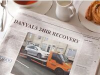 DANYALS 24/7 ACCIDENT AND BREAKDOWN RECOVERY 07944480346