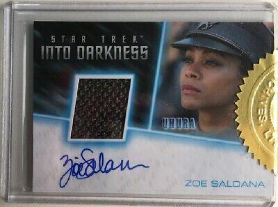 Star Trek Uhura Costume (Star Trek Beyond Zoe Saldana as Uhura Autograph Costume Card, Incentive)