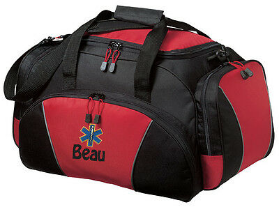 Emt Ems Embroidered Duffel Bag