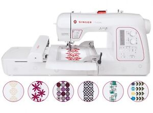 Singer XL-580 Futura Embroidery And Sewing Machine 250 design Kitchener / Waterloo Kitchener Area image 1