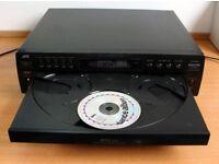 JVC XL-F154 5 disc CD player
