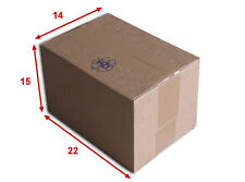 25 boîtes emballages cartons  n° 16   - 220x150x140 mm - simple cannelure